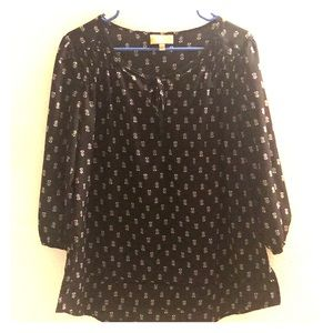 Large Princess Vera Wang Long Sleeve Blouse